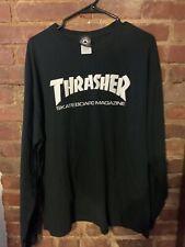 Thrasher Magazine Black Long Sleeve Xl