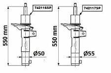 MONROE AMORTISSEUR (à L'UNITé) POUR SEAT LEON ST 2.0 TDI,VW GOLF VII 1.2 TSI