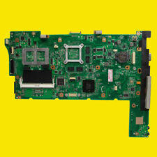 For ASUS N73JQ N73JF Laptop Motherboard REV:2.1 Mainboard 3 RAM Slots Support I7