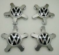 4x 135mm Volkswagen VW jantes couvercle moyeux capuchon roue GOLF TIGUAN PASSAT