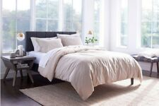 Threshold Linen Cotton Blend Natural Tan Duvet ~ Full/Queen ~ Cover Only