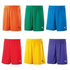 PUMA Kids Sports Football Training Velize Shorts W/o Innerslip Junior Green 152