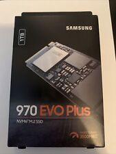 Samsung 970 EVO Plus Internal SSD 1TB M.2 NVMe Solid State Drive MZ-V7S1T0B