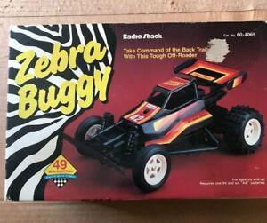 Radio Shack Zebra Buggy in Box RC racer