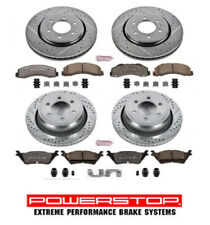 Complete Brake Rotor & Pad kit Front & Rear Tow Performance for FORD F150 12-18