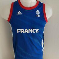 MAILLOT  basket ball ADIDAS EQUIPE DE FRANCE 14 ANS
