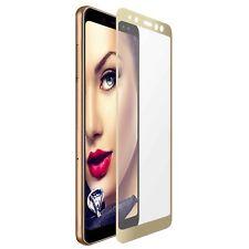Protecteur d'ecran en verre trempée pour Samsung Galaxy A8 2018 (A530/5.6'')- or