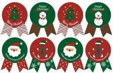 48 Seals Merry Christmas Badge Sticker Envelope Seal Food Wrapping Stickers Hot