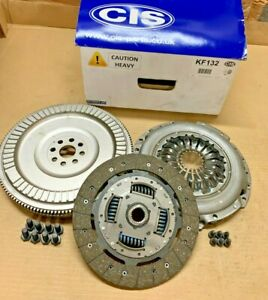 4pc Solid Flywheel Conversion Kit for Ford Tourneo Connect 1.8 TDCi 2002
