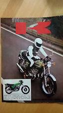 Pubblicità Advertising KAWASAKI 500 MACH III H1D anno 1972
