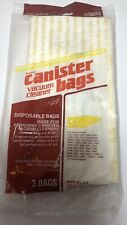 Kenmore Canister Vacuum Cleaner 3 Bags 205033 Sears OEM New  **FAST SHIPPING**