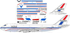 United delivery livery Boeing 747-100 decals for Revell 1/144 kit
