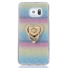 New Color for Samsung Galaxy S7&S7 Edge Phone Soft Case With Ring Stand Cover