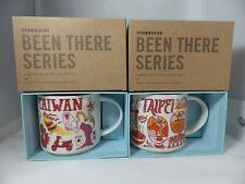 Starbucks Been There Series City Mug Taiwan and Taipei City Mugs 14oz  NEW