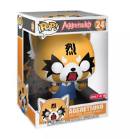 "Large 10"" Aggretsuko Funko Pop Animation Figure Sanrio Vinyl Office Panda Rage"