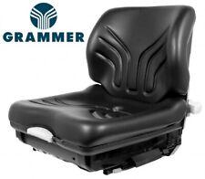 X2 Milsco XH90 Micro Digger//Volquete//Roller//Planta//jcb Calidad PAN Asiento-Negro PVC