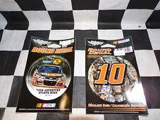 Tony Stewart Stewart-Haas Racing 2 Pack of  NASCAR Round Decals
