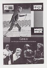 White Rock (WNF 7081) - Franz Klammer / Wintersport / Ski / Genesis