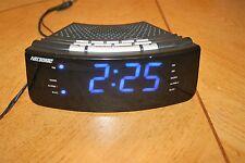 Nelsonic LED Alarm Clock Radio (Model No. NLC618)