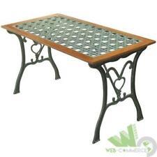 Tavoli In Ghisa Da Giardino.Tavoli Da Esterno Nero In Ghisa Acquisti Online Su Ebay