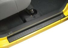 2007-2018 Jeep Wrangler JK (4-door) Mopar Door Sill Guards Black 82210106AB