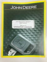 John Deere Operator's Manual X300 Tractors Mowers. OEM Original OMM163031 H0