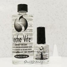 HOT SALE! BUY Seche Vite Dry Fast Large 4oz FREE Top Coat 0.5 oz Duo Value Kit