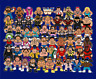 WWF Wrestling Retro Superstars Andre The Giant Hulk Hogan Randy Savage Kane 8x6