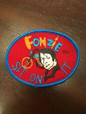 New listing New Original Fonzie Sit On It Patch Sew On 4x3