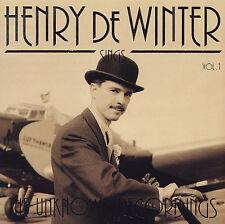 HENRY de WINTER - CD - HENRY de WINTER sings THE UNKNOWN RECORDINGS - VOL.1