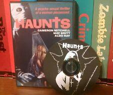 Haunts (1977) Cameron Mitchell, May Britt. Sleaze slasher bloody shock horror