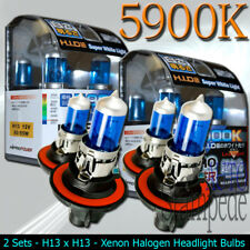 XENON HALOGEN LIGHT BULBS 2008 2009 2010 2011 2012 JEEP LIBERTY - 4PCS