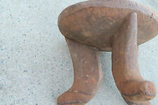 "Arts of Africa - Ethiopian Stool - Ethiopia - 54"" Cir x 14"" Height 17"" Wide"