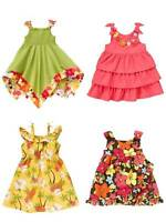 Gymboree Aloha Sunshine Floral Ruffle Tiered Summer Dress Girls 3T 4T 5T NEW NWT