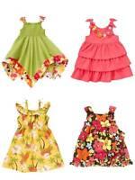 Gymboree Aloha Sunshine Floral Ruffle Tiered Summer Dress Girls 3T 4T 5T NEW NWT