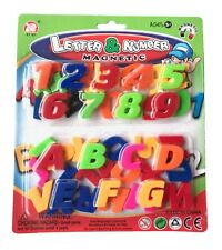 52pcs Magnetic Alphabet Capital Letters & Numbers Fridge Magnets Toys Learning