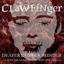 Clawfinger - Deafer Dumber Blinder: 20 Years Anniversary Box [New CD]