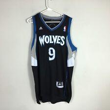 Adidas Swingman NBA Jersey Minnesota Timberwolves Ricky Rubio Blue Size M