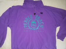 Gear For Sports purple Windbreaker Pebble Beach California medium 80s Vintage