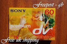 SONY PREMIUM DVM-60 MINI DV Videocamera Digitale Nastro/Cassette-alta qualità