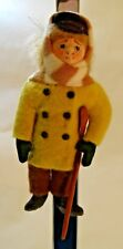 Vintage GLADYS BOALT   Tiny Tim   CHRISTMAS CAROL - 1986?  * Repaired Crutch *