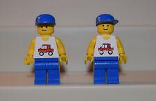 Lego Minifigure trc002 Trucker LOT of 2 6660 9365 6395       #LX748