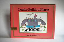 Vintage Book, Louise Builds a House, First American Edition, 1989, New Condition