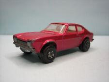 Diecast Matchbox Superfast Ford Capri Purple 1970 No. 54 Good Condition