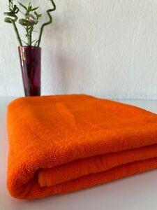 """Extra Large Oversized Bath Towel 100% Cotton Turkish Towel Light Orange 40x80"""""""