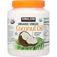 Kirkland Organic Virgin Coconut Oil Cold Pressed Unrefined 2.48L (84 FL OZ)