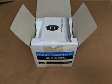 JVC TV Camera Wide Conversion Lens GL-C15-58(U) Victor Company of Japan