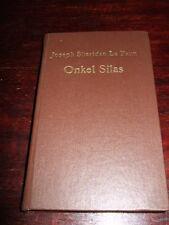 El tío silas o. el patrimonio nefastos, le Fanu, 1986, una novela de crímenes, las imágenes texto p.
