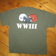 vtg 90s GETTYSBURG VS FRANKLIN & MARSHALL 85th Game 1999 WWlll Football T-shirt