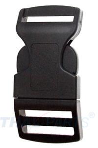 10 St. Steckschnalle 20mm gebogen Acetal Steckverschluss Gurtband Steckschnallen